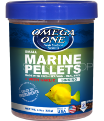 OMEGA ONE Garlic Marine pellets, sinking, 2mm